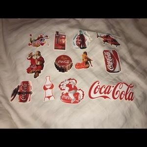 Other - Vintage Coca-Cola Stickers🥤♥️